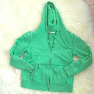 old Navy Green Hoodie Sweater